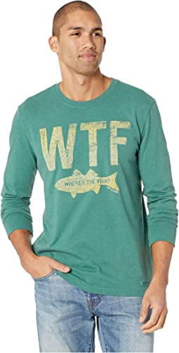 WTF Crusher T-Shirt Long Sleeve