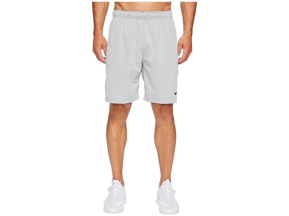 Nike Flex Woven Training Short (Carbon Heather/Carbon Heather/Black) Men