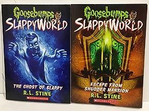 Goosebumps Slappyworld 2-Book Set: #5 Escape From Shudder Mansion & #6 The Ghost of Slappy