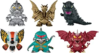 Godzilla Chibi Figure Six Pack