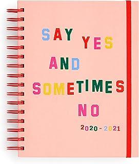 بان .دو 17 شهر 2020-2021 مخطط يومي متوسط مع مناظر أسبوعية وشهرية، تاريخ أغسطس 2020 - ديسمبر 2021، غلاف متين للعناية الذاتي...