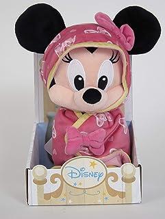 Disney Plush Minnie Blankee With Stand, 10 inch
