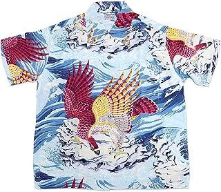 (サンサーフ)SUN SURF 半袖アロハシャツ MUSA-SHIYA SHOTEN SPECIAL EDITION「THE EAGLE HAS LANDED」 SUN SURF SS38415 サンサーフ ハワイアン