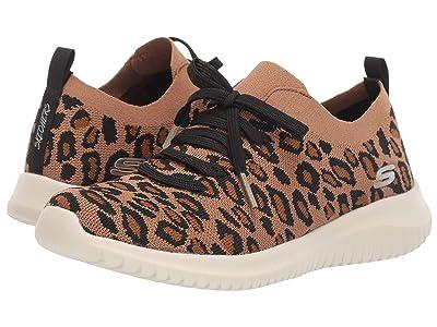 SKECHERS Ultra Flex Safari Tour (Leopard) Women
