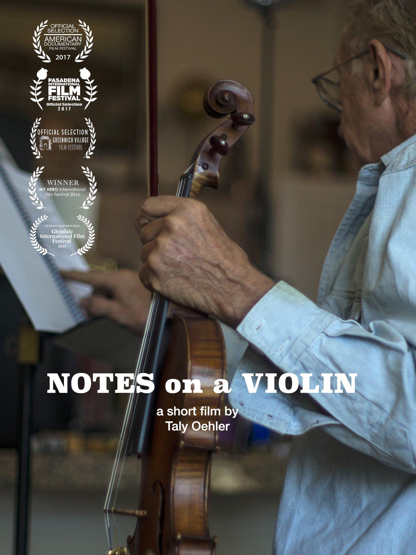 Notes Violin Darren Briggs
