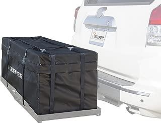 Keeper 07208 Black Waterproof Hitch Rack Bag (11 Cubic Feet)