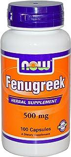 Now Food - Fenugreek 500 Mg - 100 Capsules