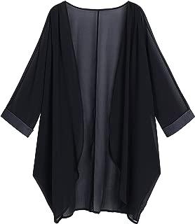 Best black kimono jacket Reviews