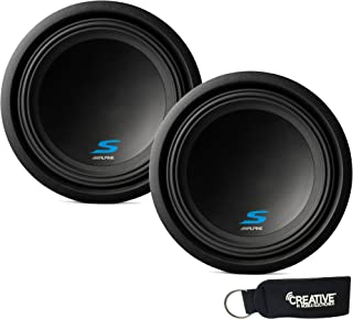Alpine Subwoofer Package - Two S-W12D2 S-Series 12