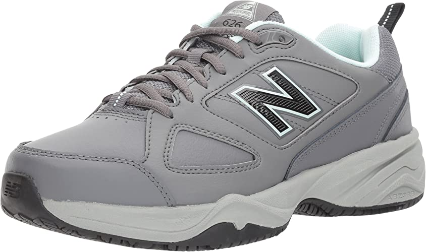 New Balance - Chaussures d'entraînement WID626V2 Femme, 46.5 EUR - Width D, gris bleu