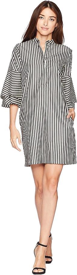111dfc06c1d0c LAUREN Ralph Lauren. Abbi Almonte Floral 3/4 Sleeve Day Dress. $40.50MSRP:  $135.00. New. Polo Black/Parchment
