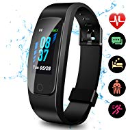 Updated 2019 Version High-End Fitness Tracker HR, Activity Trackers Health Exercise Watch with...