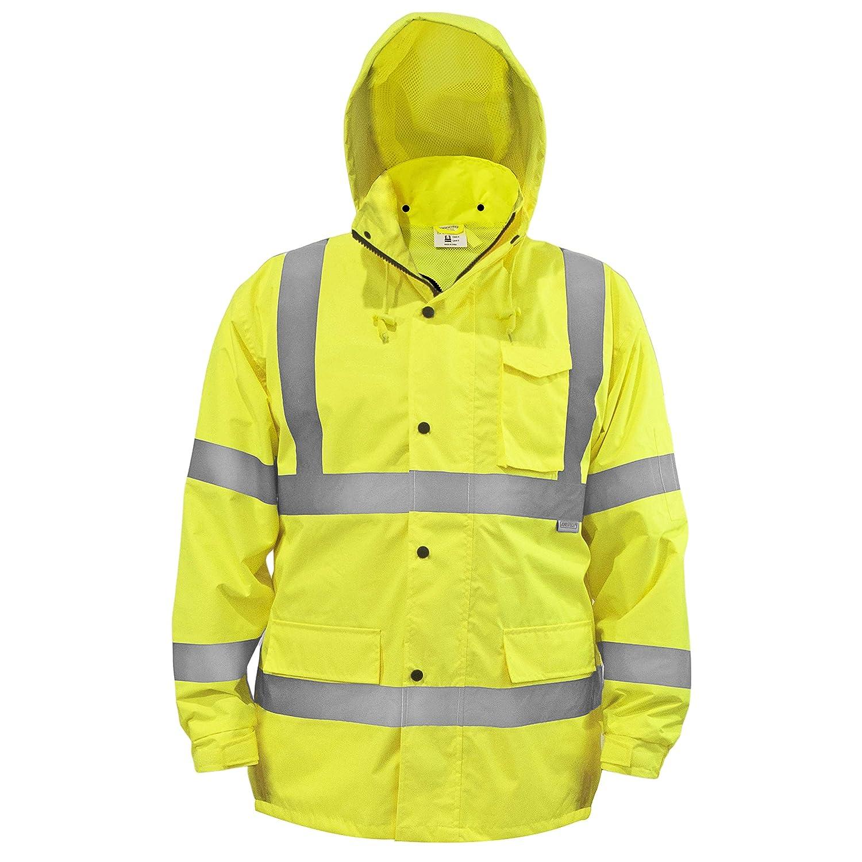 JORESTECH Safety Rain Jacket Visibili High Reflective Max 56% OFF Waterproof Seasonal Wrap Introduction