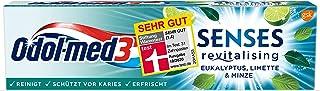 Odol-med3 SENSES revitalising Eukalyptus, Limette und Minze Zahnpasta,75 ml