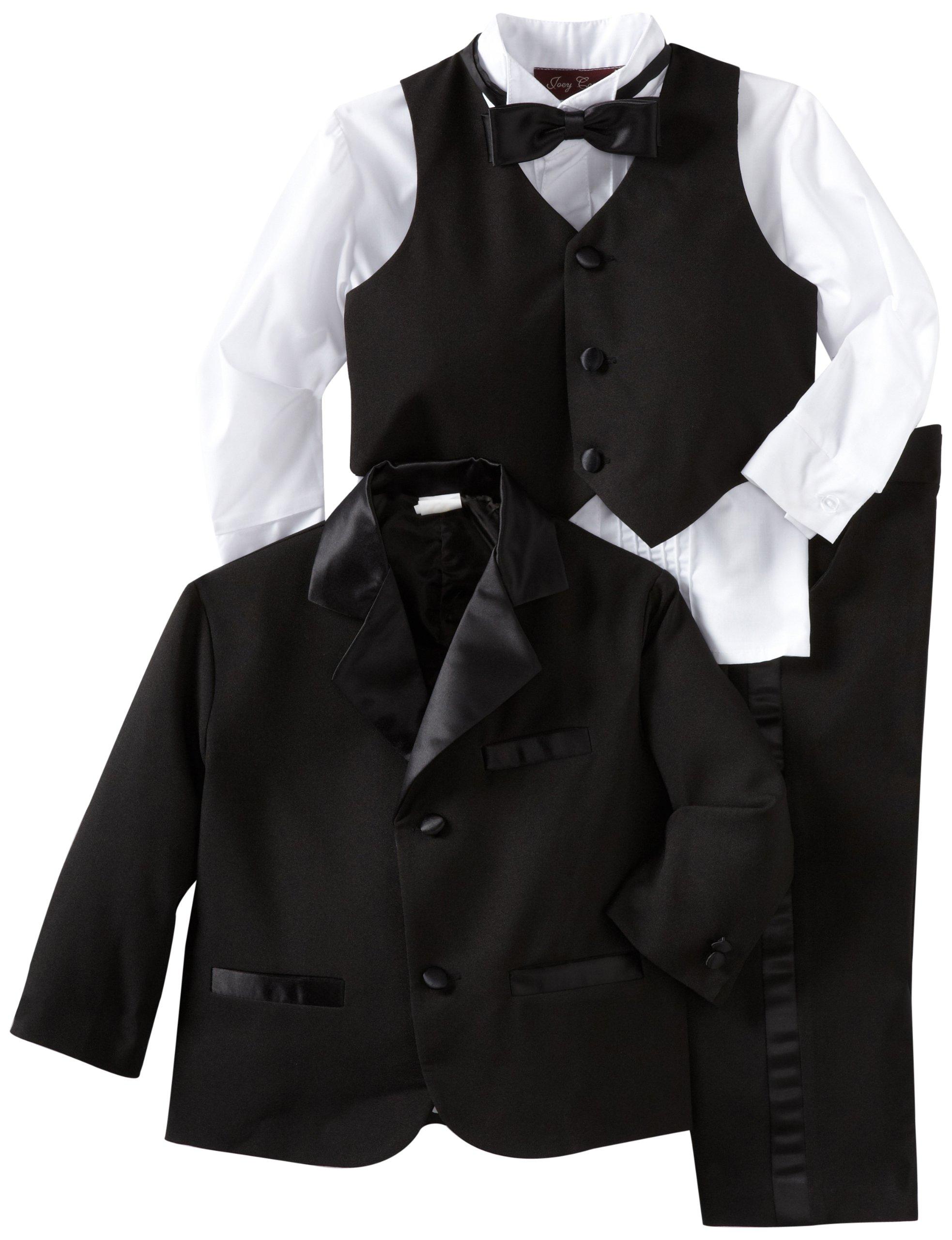 Joey Couture Little Boys' Little Tuxedo No Tail Suit
