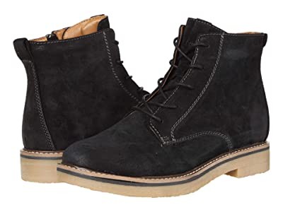 Comfortiva Resee (Black Oiled Cow Suede) Women