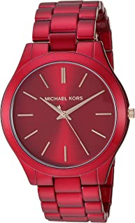 Michael Kors Slim Runway Women's Stainless Steel Watch - 42MM