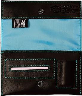 Pellein - Portatabacco in vera pelle Blu Hero - Astuccio porta tabacco, porta filtri, porta cartine e porta accendino. Han...