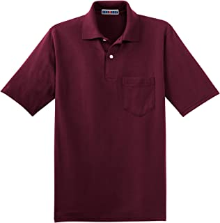 Mens 50/50 Jersey Pocket Polo with SpotShield (436P)