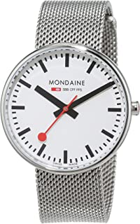 Mondaine 瑞士国铁表 瑞士品牌  石英男女适用手表 A763.30362.11SBM