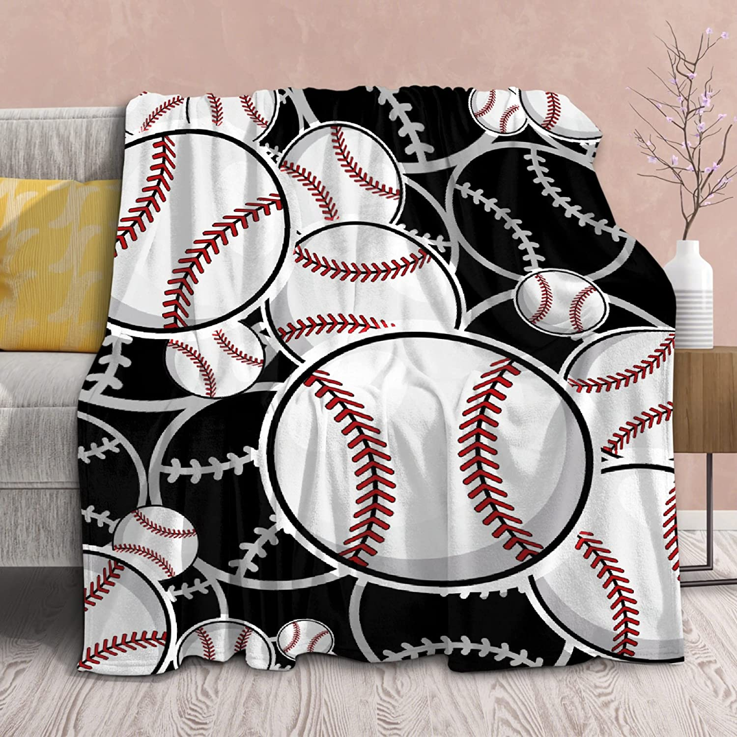 Blanket Baseball Softball Sport Fans Throws Quilt 2021 spring 100% quality warranty! and summer new So Lightweight