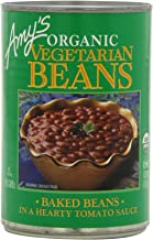 Amy's Organic Beans, Baked Beans in a Hearty Tomato Sauce, 15 Ounce (Pack of 12)