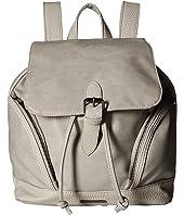 Rampage Mixed Media Pebble Grain Backpack