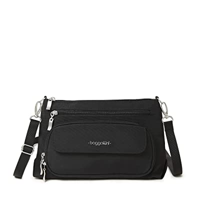 Baggallini Legacy Original Everyday Bag (Black) Handbags