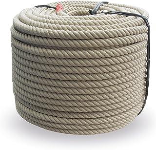 Grevinga Polypropylen Spinnfaserseil - Kunststoffseil - Seil - Hanfseil Optik Durchmesser 20 mm