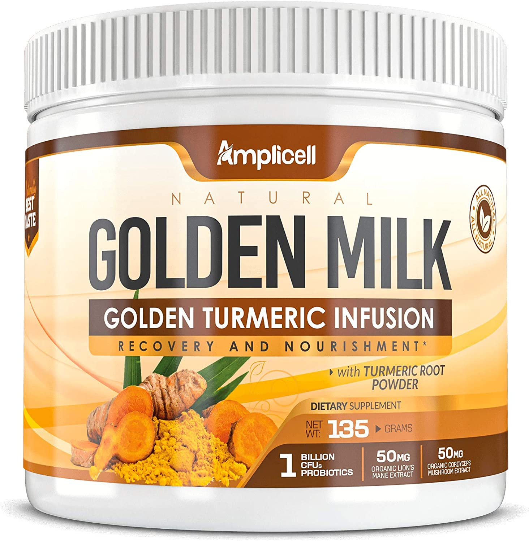 Natural Golden Milk - Turmeric Max 71% Super popular specialty store OFF 135g Powder Organic