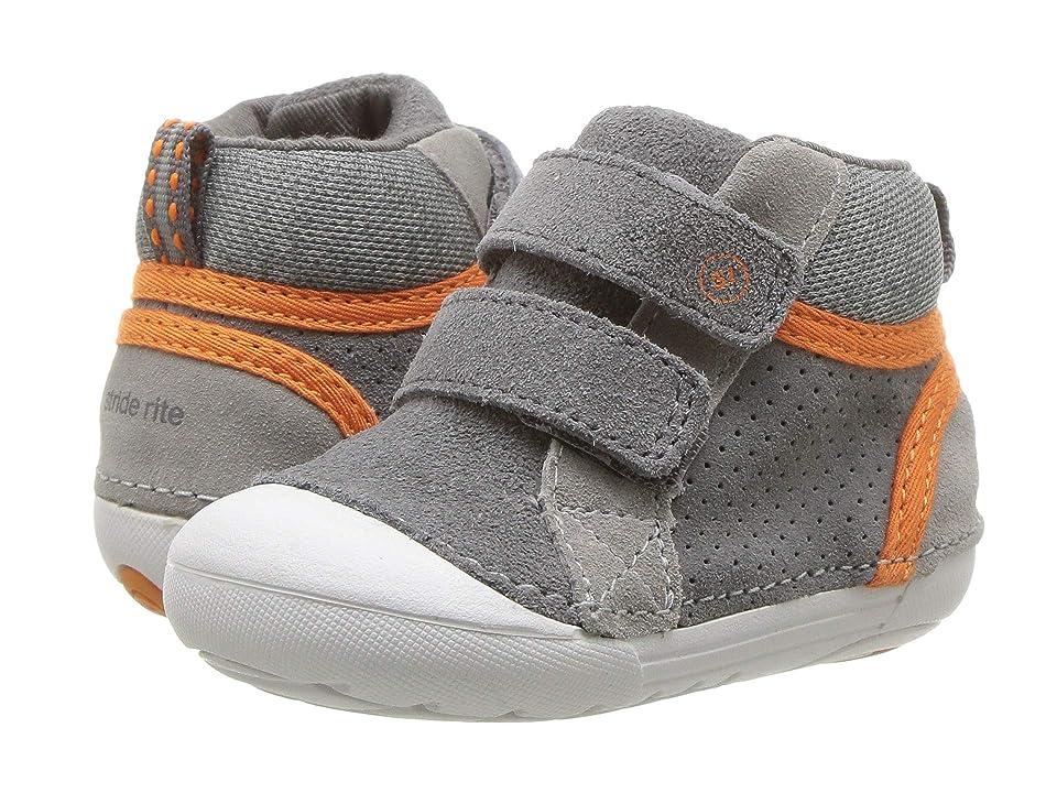 Stride Rite SM Milo (Infant/Toddler) (Grey) Boys Shoes
