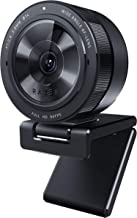Razer Kiyo Pro ストリーミング ウェブカメラ USB 3.0 フルHD 1080p/60FPS 高精細画質 207万画素 HDR対応 103°広角 高性能アダプティブライトセンサー オートフォーカス 耐久性に優れたCorning ...