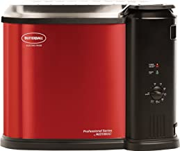 Butterball MB23012718 Electric Fryer, Red