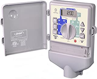 Orbit 6 Stations Sprinkler Timer Indoor Controller & 6 Zone 27966