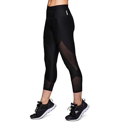 83a413af6 RBX Active Women's Fashion Capri Legging with Mesh Inserts