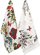 DII Print Kitchen Textiles, Dishtowel S/2, Botanical Blooms 2 Piece