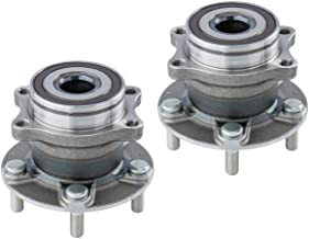 2 DTA Rear Wheel Bearing Hub Assemblies Compatible with 2015-2019 Subaru Legacy, Outback, WRX. 2019 Forester, Ascent
