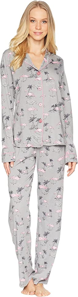 Playful Prints Flamingo PJ Set