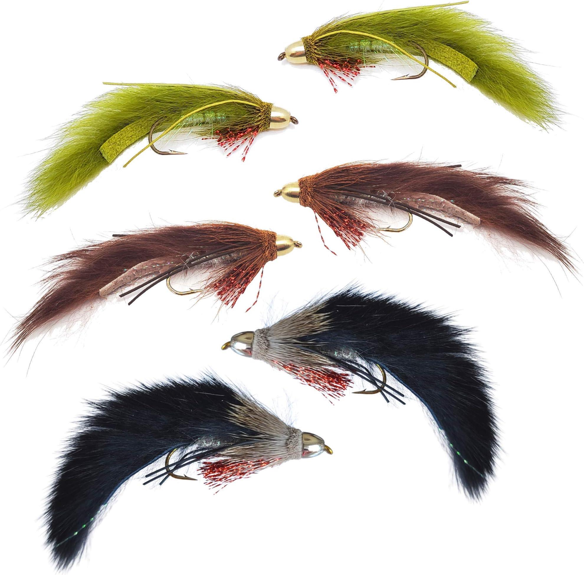 für Bunny Jig Streamer Fliegenbinden Bindematerial Trockenfliegen Spinner P-R.ch