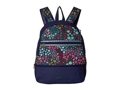 Sakroots Entrada Backpack (Navy Floral Spirit) Backpack Bags