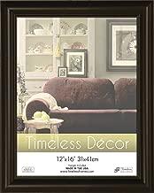 Timeless Frames 12x16 Inch Boca Picture Frame, Black
