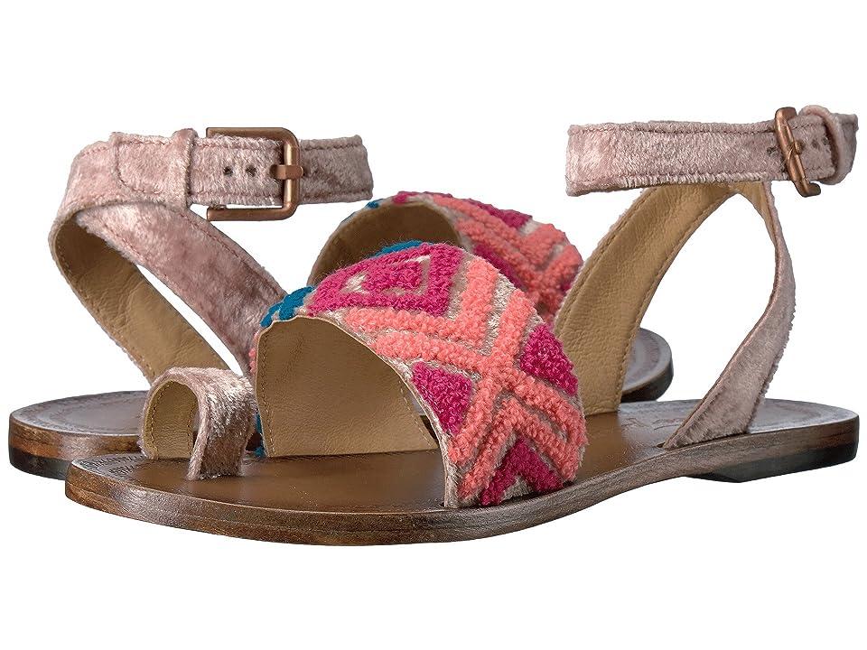 Free People Torrence Flat Sandal (Light Pink) Women
