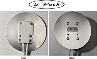Pack Of 5-Aluminum Faced Miniature Bi-Pin Socket with 2