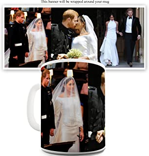 11 OZ Mug - Unique Coffee Mug, Coffee Cup Royal Wedding photo Meghan Markle and Prince Harry