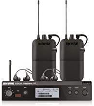 Shure In-Ear Audio Monitor System, Black, G20: (P3TR112TW-G20)