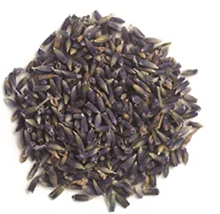 Organic Lavender Flowers, Whole Frontier Natural Products 1 lbs Bulk