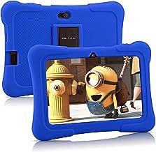 Pritom 7 inch Kids Tablet, Quad Core Android 10, 16GB...