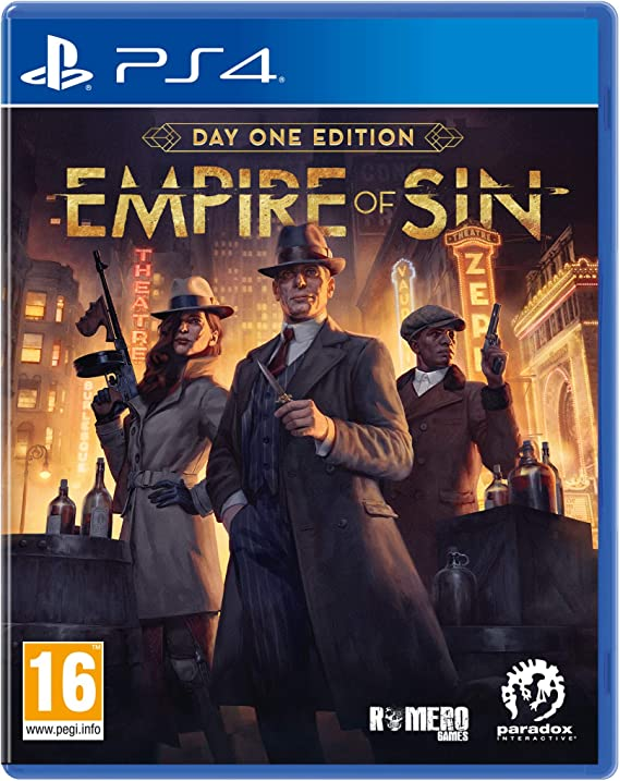 Empire of Sin: Day One - PS4
