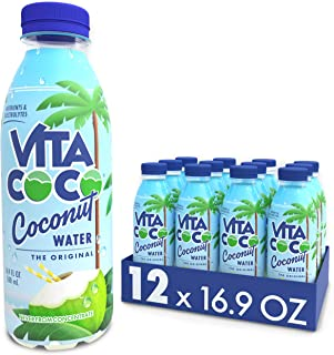 Vita Coco Coconut Water, Pure | Natural Hydrating Electrolyte Drink | Smart Alternative To Coffee, Soda, & Sports Drinks |...
