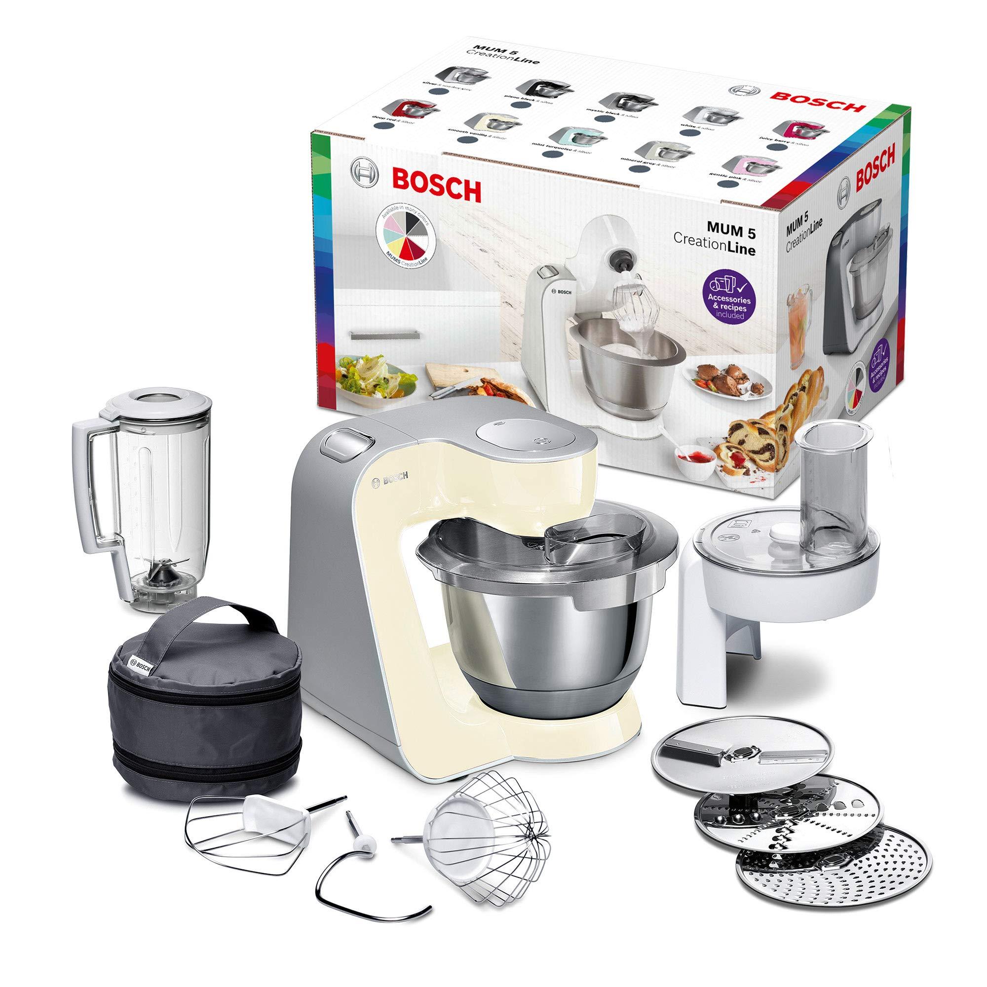 Bosch MUM58920 - Robot de cocina (1000 W, acero inoxidable), color ...